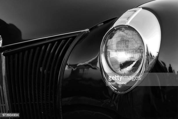 black and white ford 2 - grille stock photos and pictures