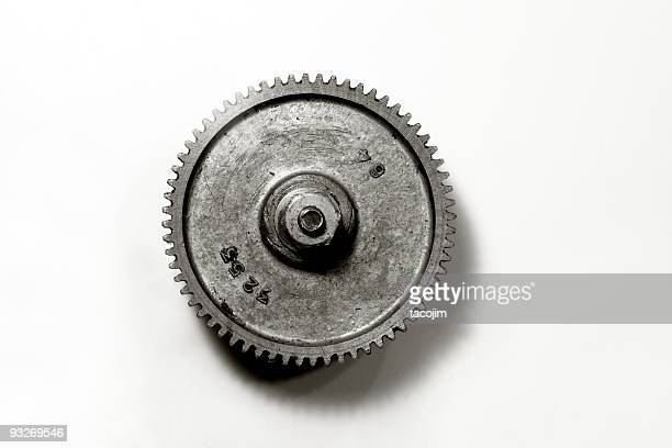 black and white gear - rusty stock pictures, royalty-free photos & images