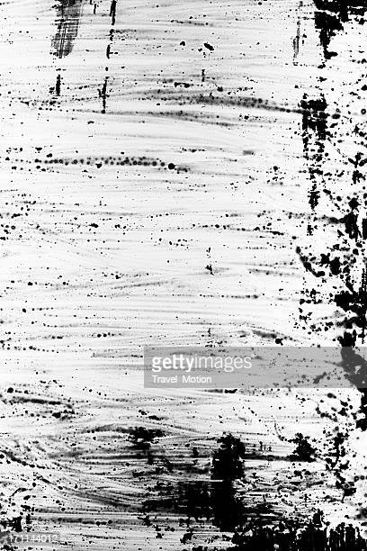 Black and white grunge painting background.