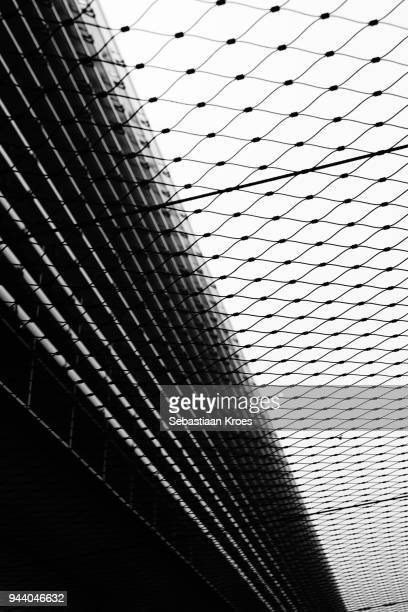 Black and White, Hall L, Terminal 2E, Paris Charles de Gaulle International Airport, Roissy, France