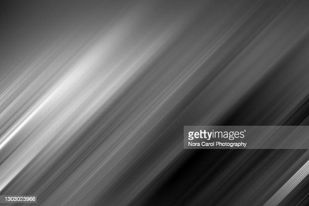 black and white motion abstract background - metallic stock pictures, royalty-free photos & images