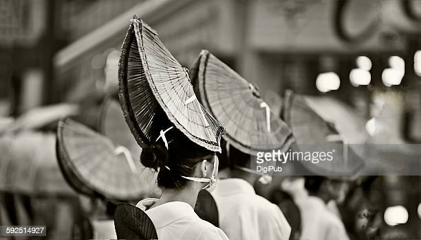 black and white - awa dance festival stock photos and pictures