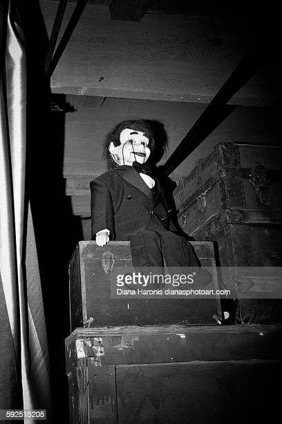 black and white - ventriloquist stock photos and pictures