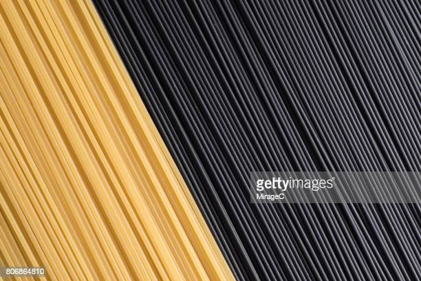 Black and Yellow Spaghetti