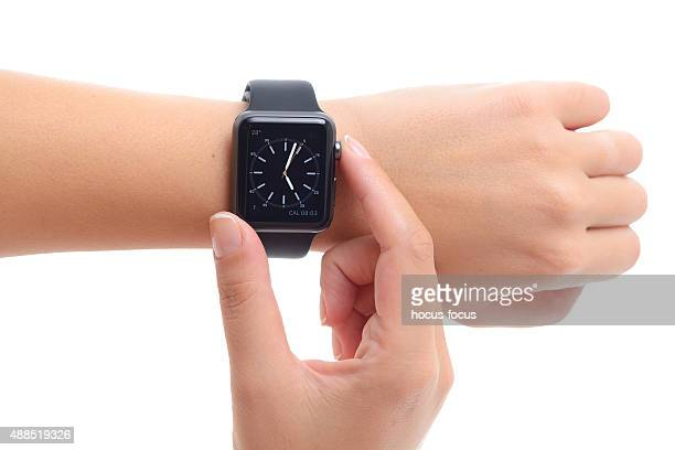 Black Apple Watch Sport