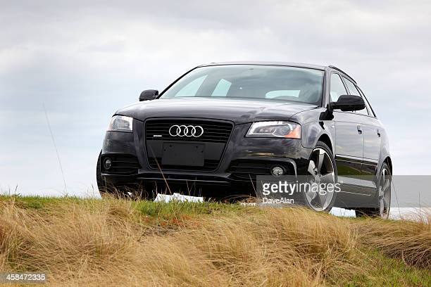 black audi a3 2011 - audi stock pictures, royalty-free photos & images
