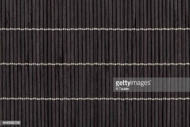 Black bamboo texture in high resolution close up