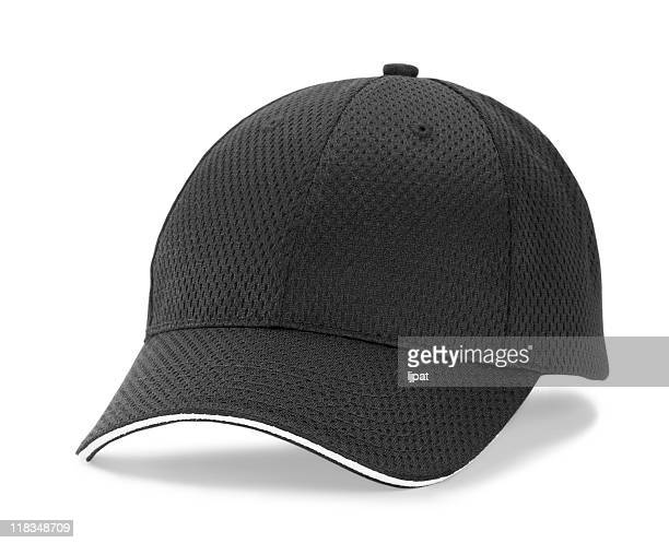 black baseball cap - baseball cap stock pictures, royalty-free photos & images