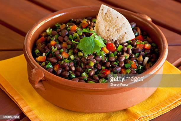 黒色豆のサラダ