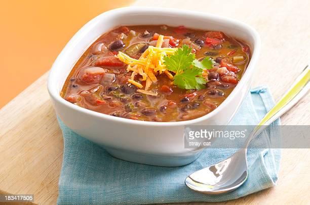 ブラックの豆のスープ