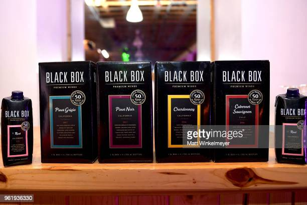 Black Box Wine is served during the 2018 Mammoth Lakes Film Festival on May 23 2018 in Mammoth Lakes California