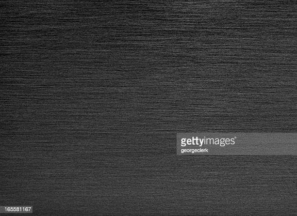 black brushed metal background - metallic stock photos and pictures
