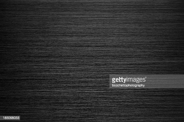 black brushed metal texture - metallic stock photos and pictures