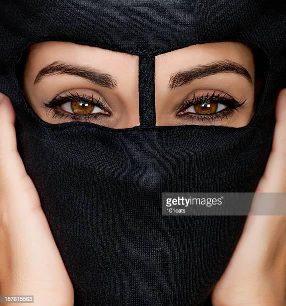 black burka