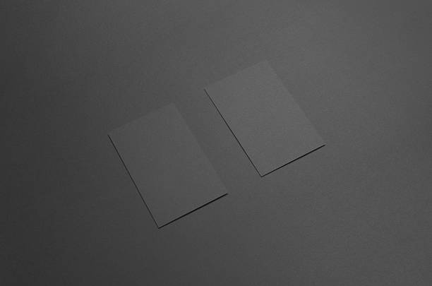 Free business card black images pictures and royalty free stock black business card mock up 85x55mm reheart Choice Image