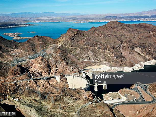 Black Canyon and the Gravity Arch Boulder Dam