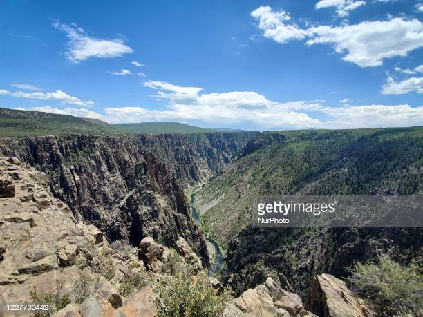 Black Canyon of the Gunnison Colorado US on July 10 2020