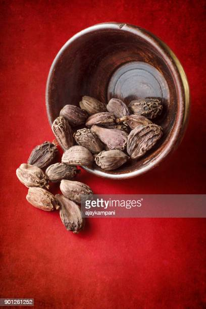 Black cardamom fruit