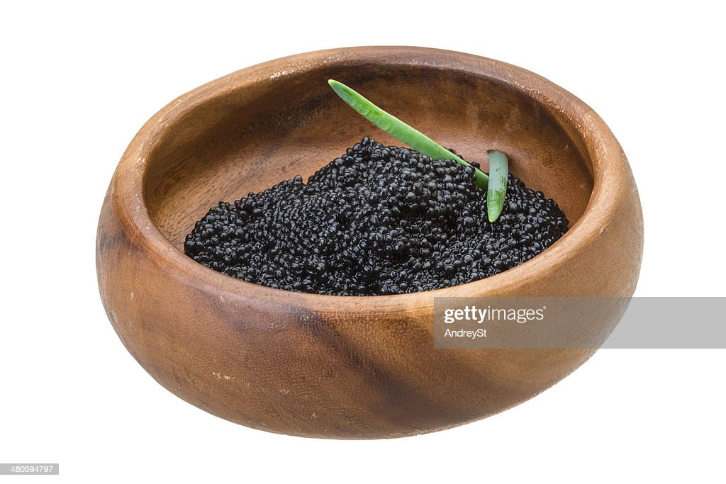 Black caviar : Stock Photo