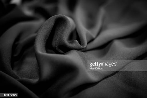 black chiffon fabric - kanagawa prefecture stock pictures, royalty-free photos & images