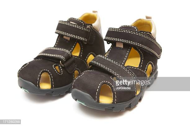 black children's sandals - open toe stock pictures, royalty-free photos & images