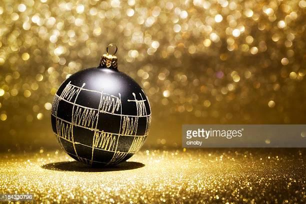 Black Christmas Bauble