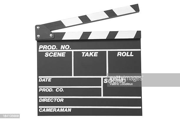 black clapperboard - clapboard stock pictures, royalty-free photos & images