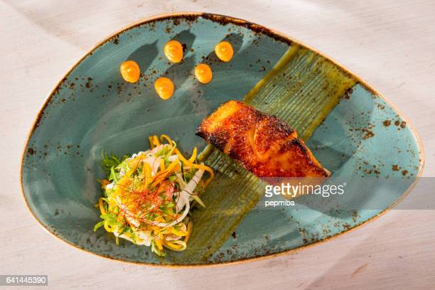 Black cod miso marinated