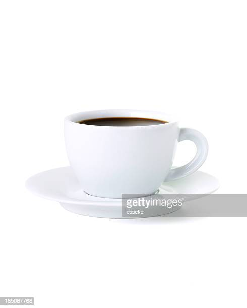 black coffee - espresso stock photos and pictures