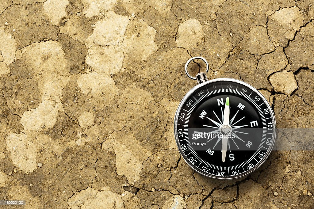 Black compass : Stock Photo