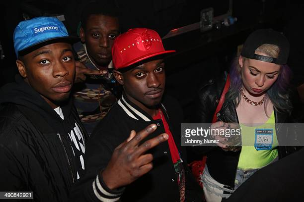 Black Dave attends Fredo Santana In Concert at Highline Ballroom on May 14 2014 in New York City