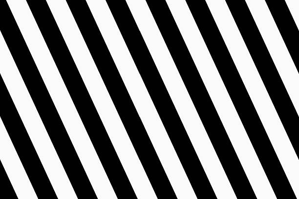 Black diagonal lines on a white background