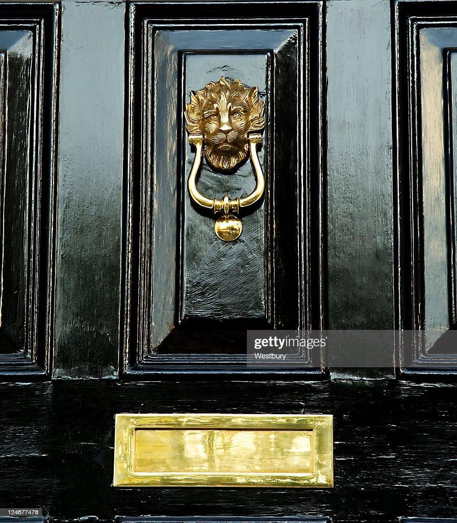 Black Door : Stock Photo