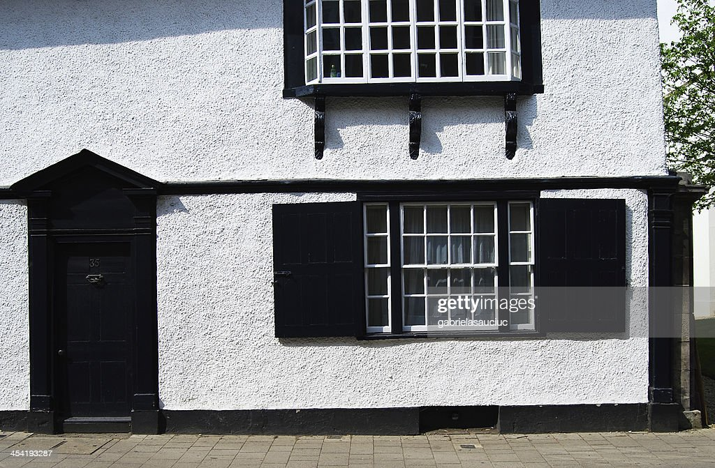 black door : Stock Photo
