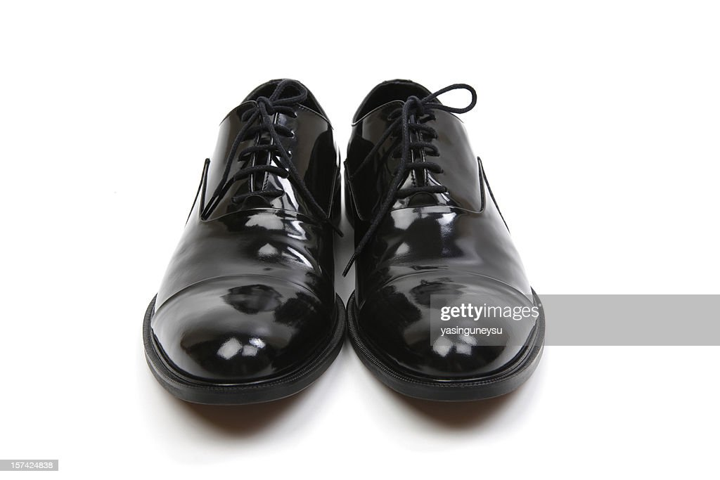 Black Dress Shoes Series : Stockfoto