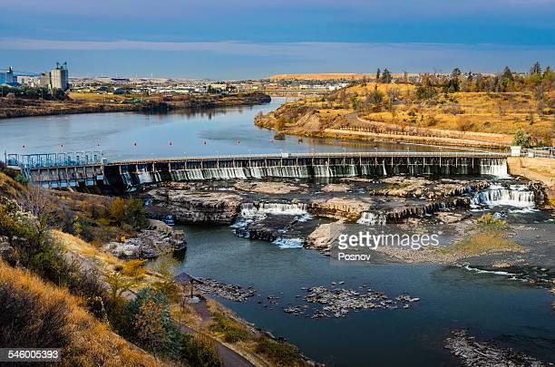 Black Eagle Dam and Falls