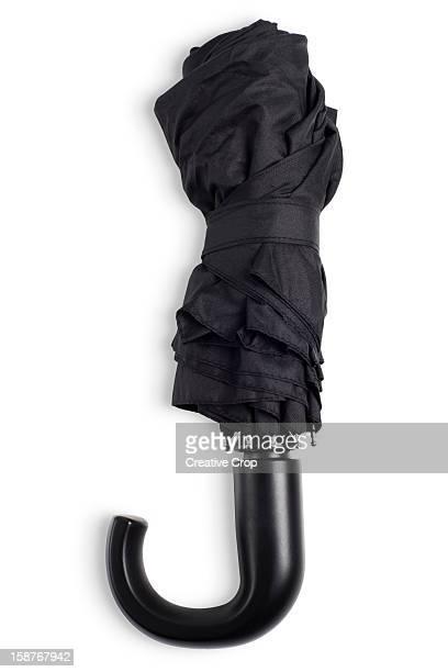 Black, executive, compact umbrella