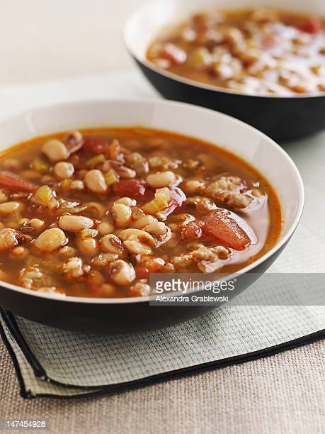 black eyed pea soup - black eyed peas food stock pictures, royalty-free photos & images