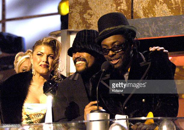 Black Eyed Peas accept the award for Mainstream Top 40 Track of the Year Award