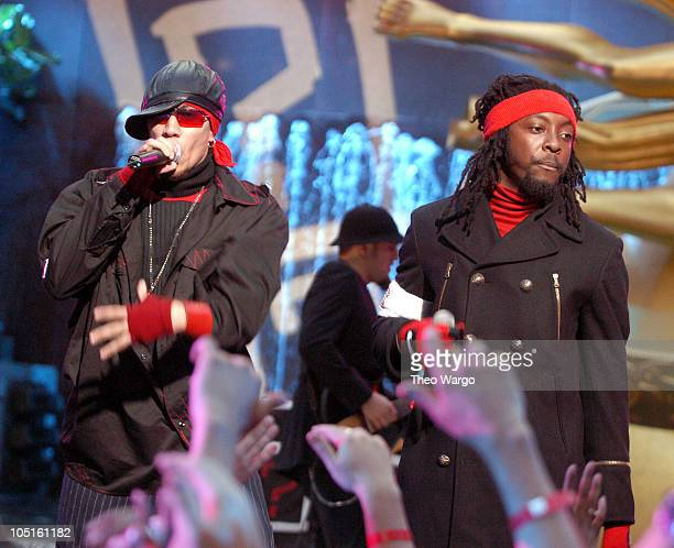 Black Eyed Peas during 2003 MTV Video Music Awards PreShow at Radio City Music Hall in New York City New York United States