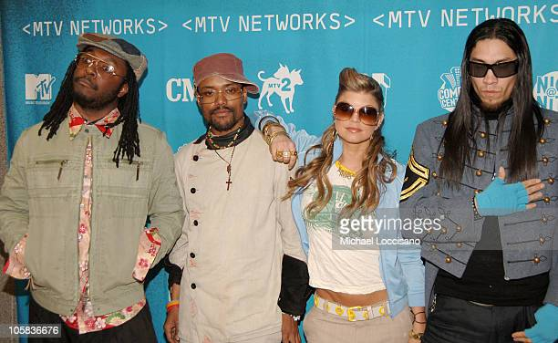 Black Eyed Peas during 2005/2006 MTV Networks UpFront at The Theatre at Madison Square Garden in New York City New york United States