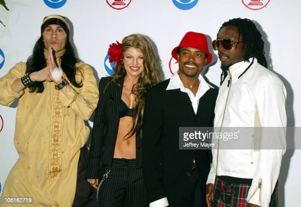 Black Eyed Peas during 4th Annual Latin GRAMMY Awards Arrivals at American Airlines Arena in Miami Florida United States