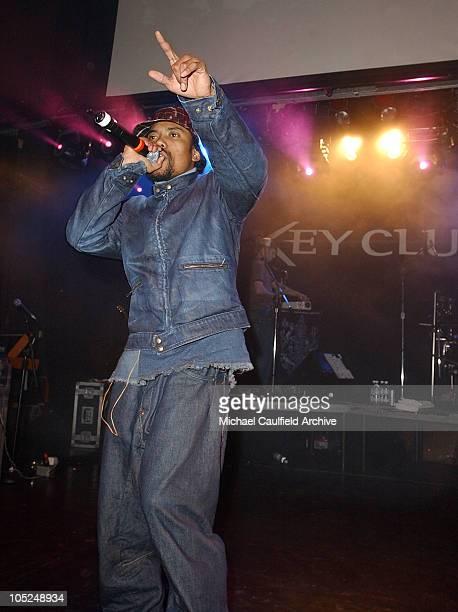 Black Eyed Peas during Black Eyed Peas Benefit Performance at Key Club in Los Angeles CA United States