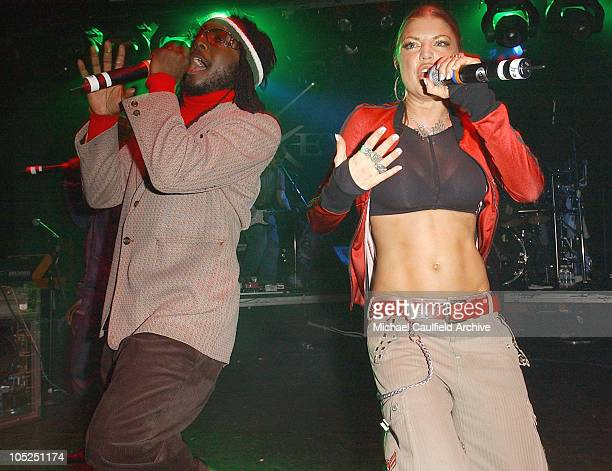Black Eyed Peas during Black Eyed Peas Benefit Performance at Key Club in Los Angeles CA United States