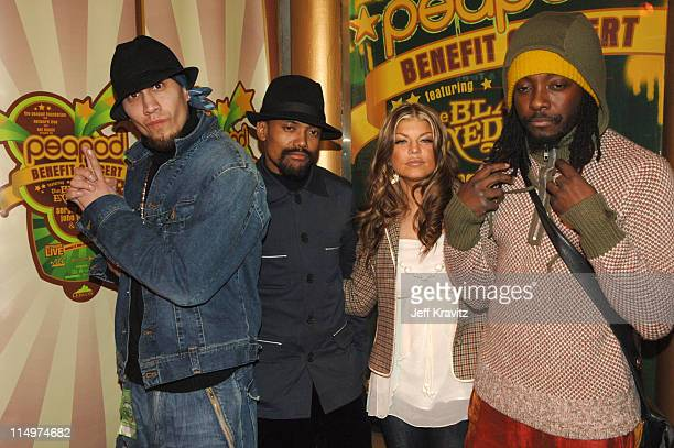 Black Eyed Peas during Leblon Cachaca Presents The Peapod: A Concert Benefit with Black Eyed Peas - Red Carpet at Henry Fonda Music Box Theater in...