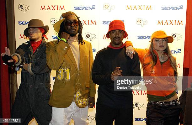 Black Eyed Peas during Maxim Party Featuring Black Eyed Peas at LIGHT At The Bellagio Casino Resort in Las Vegas Nevada United States