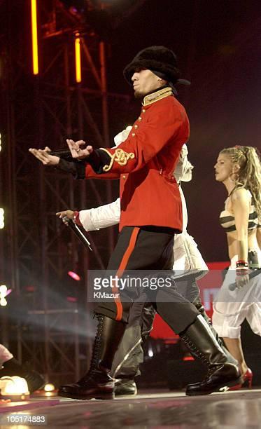 Black Eyed Peas during MTV Europe Music Awards 2003 Show at Ocean Terminal Arena in Edinburgh United Kingdom
