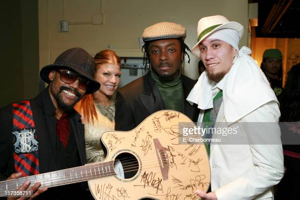 Black Eyed Peas during Saks Fifth Avenue's Unforgettable Evening Benefitting EIF's Women's Cancer Research Fund at Regent Beverly Wilshire Hotel in...