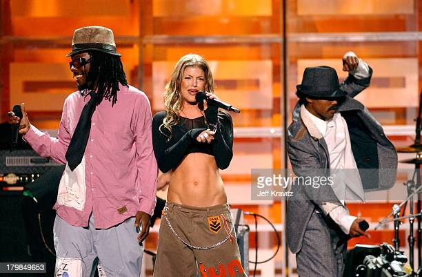 Black Eyed Peas during Spike TV Presents 2003 GQ Men of the Year Awards Show at The Regent Wall Street in New York City New York United States