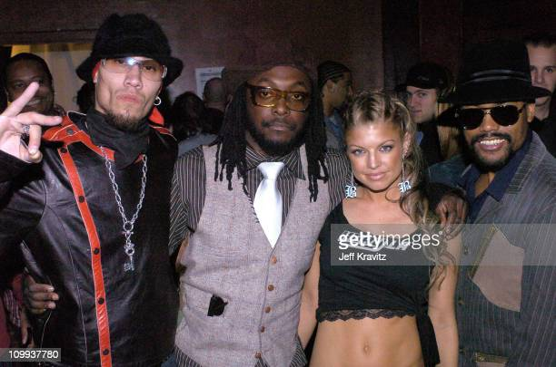 Black Eyed Peas during The 11th Annual Rock the Vote Awards Show and After Party at The Palladium in Hollywood California United States